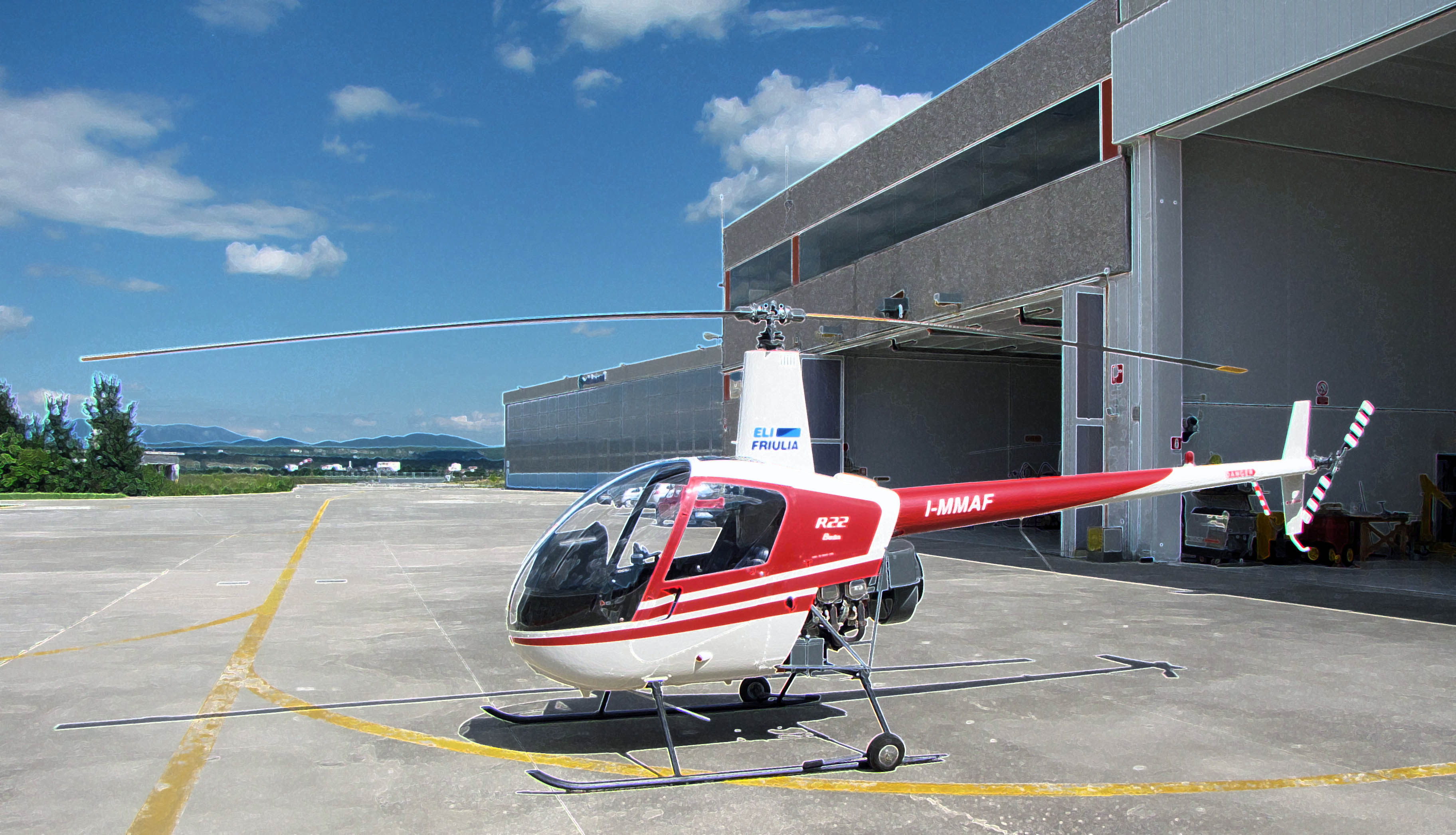 Elicottero Robinson R22 IFR Trainer