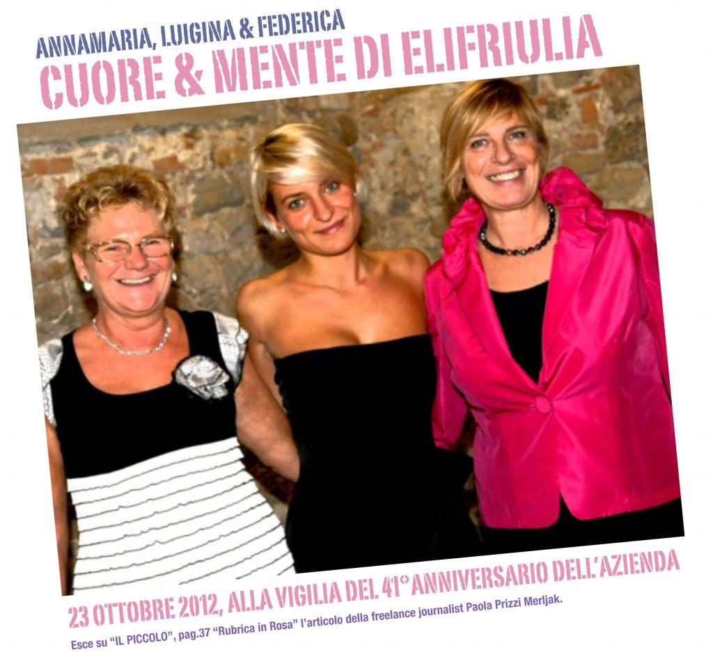 Elifriulia - Le donne in azienda