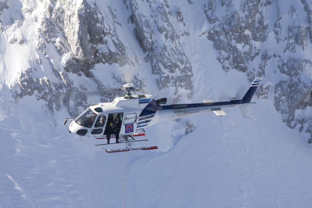 Anti valanghe elicottero Elifriulia