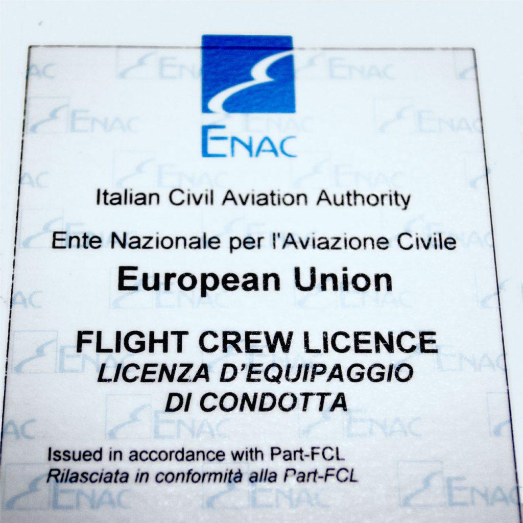 Elifriulia - Licenza di Volo EASA