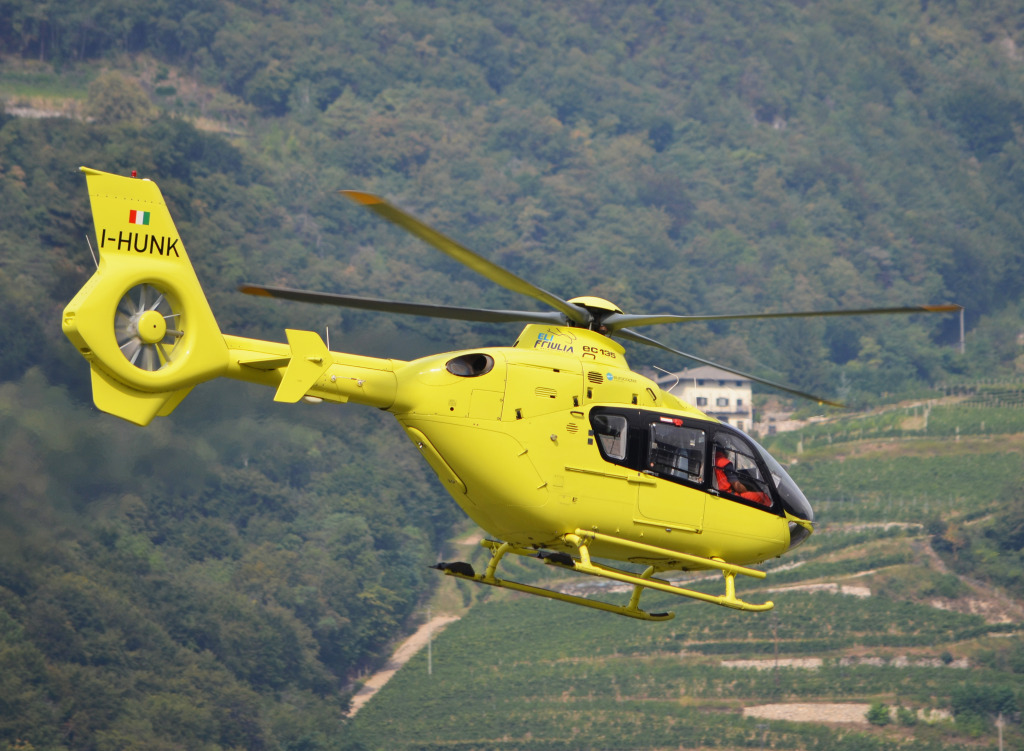 I-HUNK Elifriulia Airbus EC135