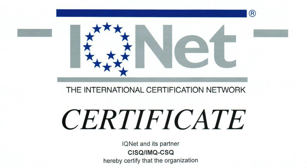 Elifriulia - Certificazione OHSAS 18001