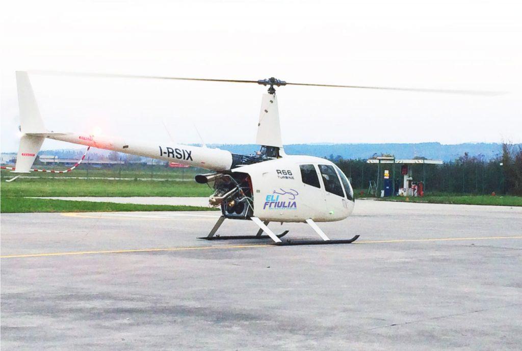 Elifriulia - Elicottero Robinson R66