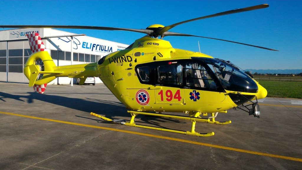 EC135 elisoccorso croazia